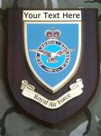 RAF Royal Air Force Personalised Military Wall Plaque